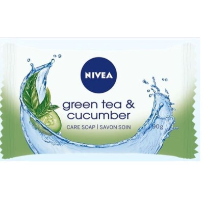 NIVEA SAPONE GREEN TEA & CUCUMBER 90 GR