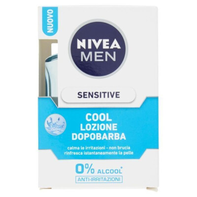 NIVEA MEN AFTER SHAVE SENSITIVE COOL LOZIONE DOPOBARBA 100 ML