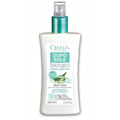 OMIA DOPO SOLE LATTE LENITIVO SPRAY CON ALOE VERA 200 ML