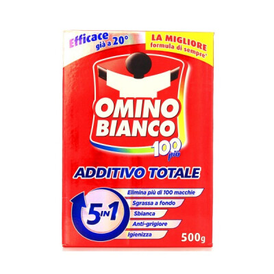 OMINO BIANCO 100 PIU' ADDITIVO 600 GR