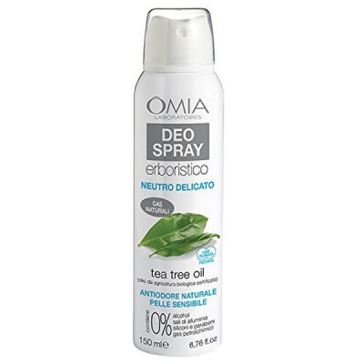 OMIA DEODORANTE SPRAY ECO BIOLOGICO NEUTRO DELICATO TEA TREE OIL 150 ML