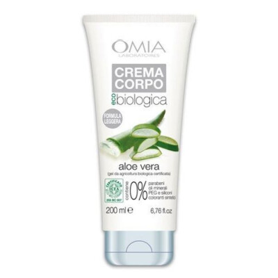 OMIA CREMA CORPO GEL ECO BIOLOGICA CON ALOE VERA 200 ML