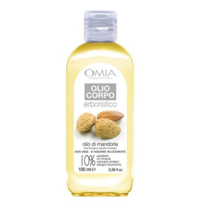 OMIA BAGNOSCHIUMA ECO BIOLOGICO CON OLIO MANDORLA 400 ML