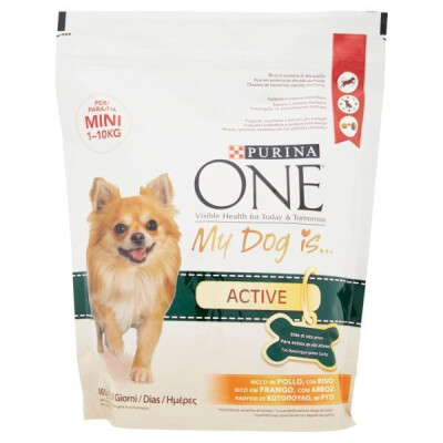 PURINA ONE MY DOG ACTIVE MINI BUSTA POLLO E RISO 800 GR