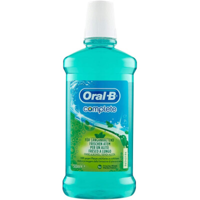 ORAL B COLLUTORIO COMPLETE 500 ML.