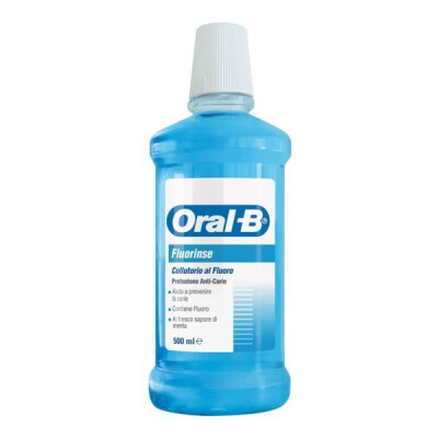 ORAL B COLLUTORIO FLUORINSE 500 ML