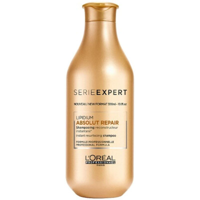 L'OREAL SHAMPOO 300 ML REPAIR LIPIDIUM