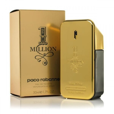 PROFUMO ONE MILLION PACO RABANNE EAU DE TOILETTE SPRAY UOMO 50 ML
