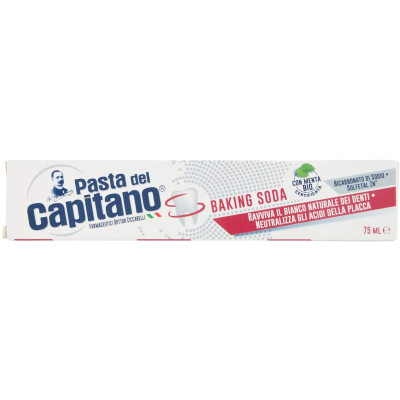 PASTA DEL CAPITANO 75 ML BAKING SODA