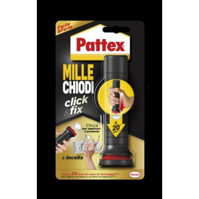 PATTEX MILLECHIODI CLICK & FIX 30 GRAMMI