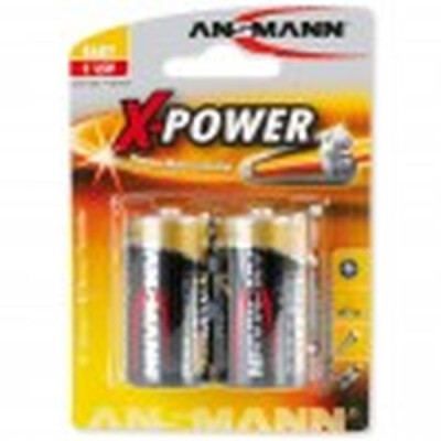 ANSMANN PILA ALCALINA X POWER  1/2 TORCIA