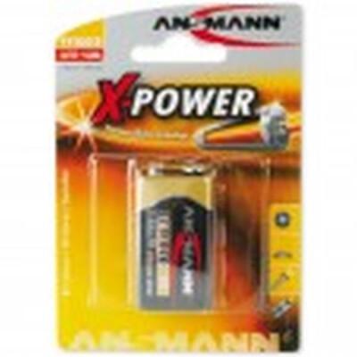 ANSMANN PILA ALCALINE POWER TRANSITOR 9V 1 PEZZO