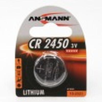 ANSMANN PILA LIHTIUM CR 2450 1 PZ