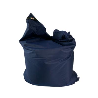 Poltrona Seduta  180x140 cm in Poliestere Nazionale Idrorepellente con doppia cucitura Colore Blu. Sacco interno in nylon con cerniera. 100% Made in Italy