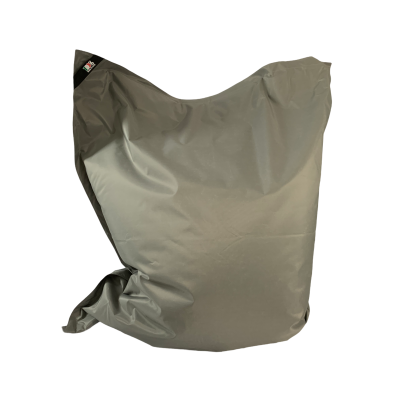 Poltrona Seduta  180x140 cm in Poliestere Nazionale Idrorepellente con doppia cucitura Colore grigio. Sacco interno in nylon con cerniera. 100% Made in Italy