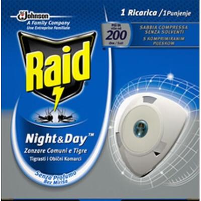 RAID NIGHT&DAY RICARICA ZANZARE TIGRE E COMUNI