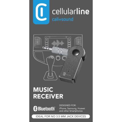 Cellularline Music Receiver Universale Ricevitore Bluethoot per prese AUX