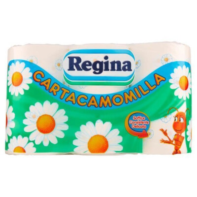 REGINA CARTA IGIENICA CARTACAMOMILLA 6 ROTOLI