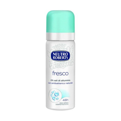 ROBERTS DEODORANTE SPRAY MINI FRESCO 50 ML