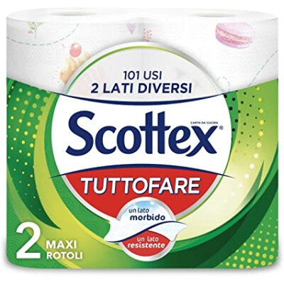 SCOTTEX CARTA DA CUCINA GIGANTE 2 ROTOLI