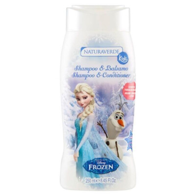 SHAMPOO & BALSAMO FROZEN DISNEY 250 ML.