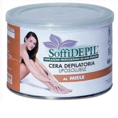 SOFFIDEPIL CERA DEPILATORIA LIPOSOLUBILE AL MIELE 400 ML