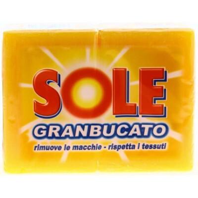 SOLE SAPONE GIALLO 2 PEZZI GR 500