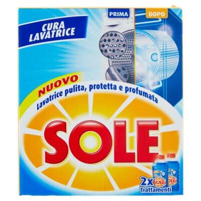SOLE CURA LAVATRICE LIQUIDO ML.250 X 2 TRATTAMENTI