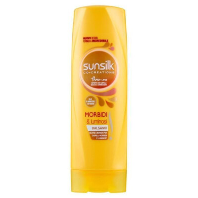 SUNSILK BALSAMO MORBIDI & LUMINOSI 200ML