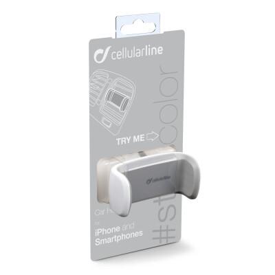Cellularline Supporto smartphone da auto super colorato Bianco