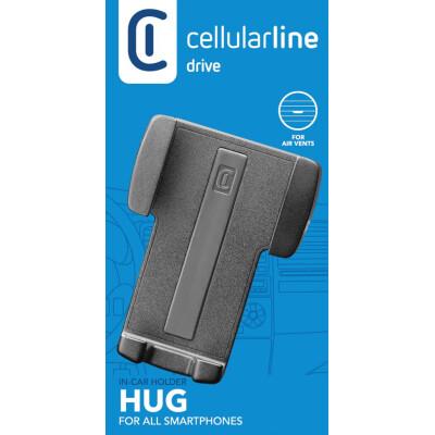 Cellularline Supporto smartphone da auto super colorato Nero