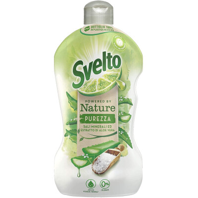 SVELTO POWERED PIATTI NATURE CONCENTRATO CON ESTRATTI DI ALOE VERA 450 ML
