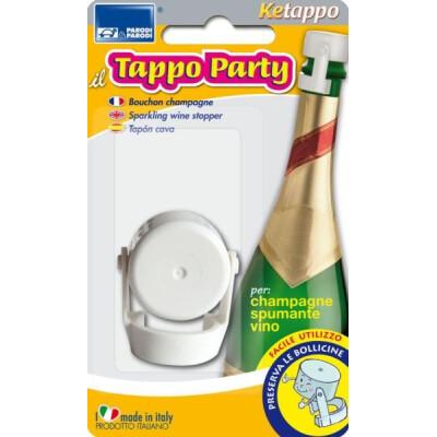 TAPPO PRESERVA BOLLICINE PER BOTTIGLIE PARTY