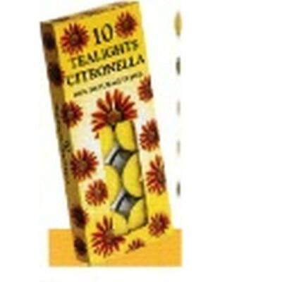 TEALIGHT CITRONELLA PANAREA 10  PEZZI