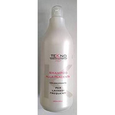 Tekno Shampoo 1 Litro alla Placenta per Lavaggi Frequenti
