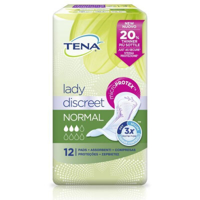 TENA LADY DISCREET NORMAL 12 PZ