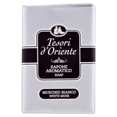 TESORI D'ORIENTE SAPONETTE MUSCHIO BIANCO 150 GR