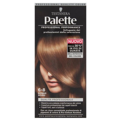 PALETTE PROFESSIONAL COLOR N.6-8 BIONDO SCURO