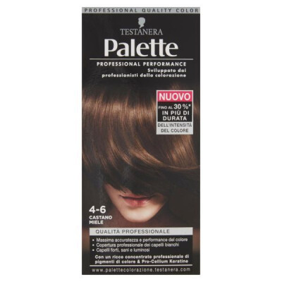 PALETTE PROFESSIONAL COLOR N.4-6 CAST.MIELE