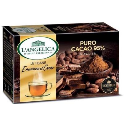 Angelica tisana al cacao 95% 15 filtri