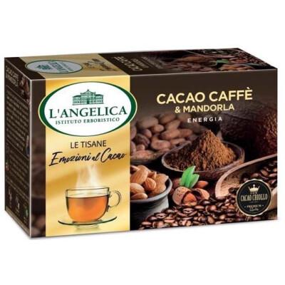 ANGELICA  TISANA CACAO CAFFE' MANDORLA 15 FILTRI