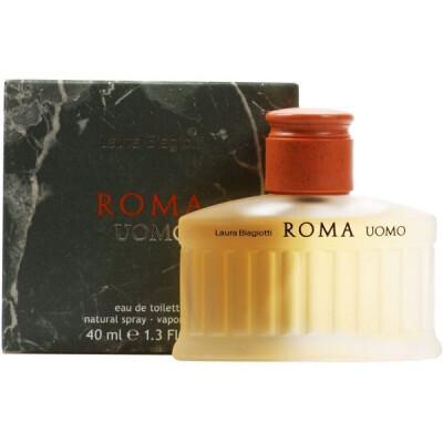 LAURA BIAGIOTTI ROMA UOMO EAU DE TOILETTE VAPO 40 ML