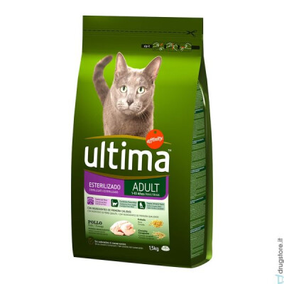 ULTIMA CAT STERILIZED POLLO 1,5 KG