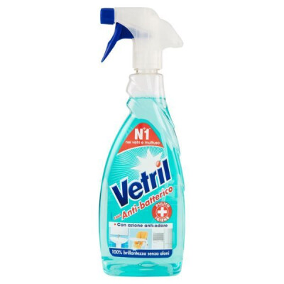 VETRIL MULTISUPERFICIE ANTI-BATTERICO TRIGGER 650 ML