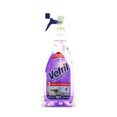 VETRIL MULTISUPERFICIE ANTI-POLVERE TRIGGER 650 ML