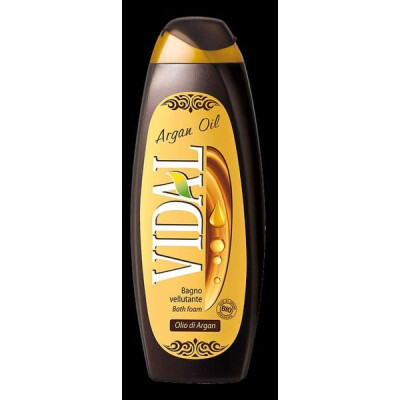 VIDAL BAGNOSCHIUMA OLIO DI ARGAN 500 ML