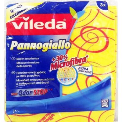 VILEDA PANNOGIALLO MULTIUSO 3 PEZZI