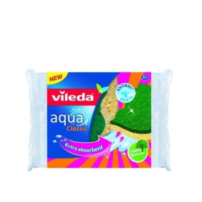 VILEDA AQUA CLASSIC SPUGNA NAT.ABR.2 PZ.