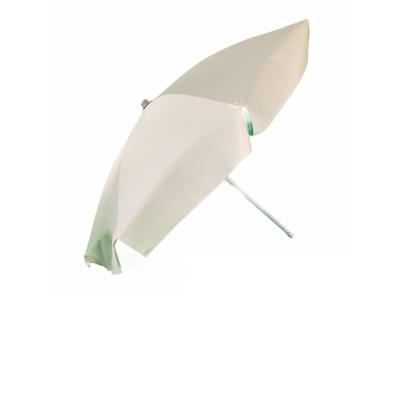 Ombrellone mare con Snodo  in alluminio. 8 stecche da  4,2 mm verniciate. Palo alluminio anodizzato 35 mm. Tessuto dragon panna