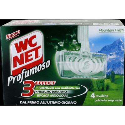 WC NET TAVOLETTA WC MOUNTAIN FRESH PEZZI 4